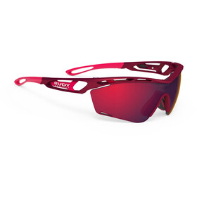 Rudy Project Tralyx Slim Brille merlot matte/multilaser red